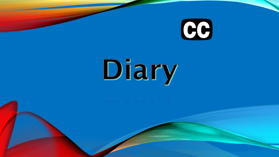 Diary Title Youtube